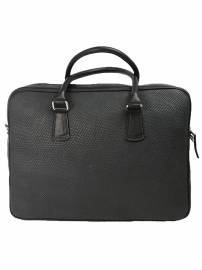 Office Bag - Embossed Seal Leather
