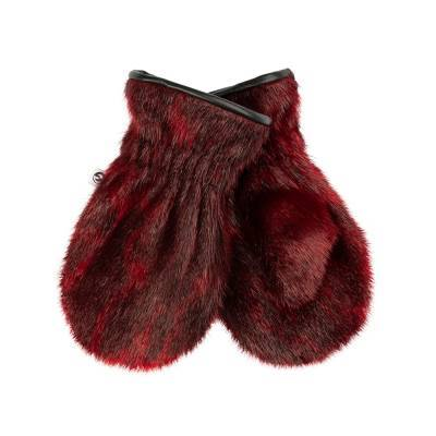 Aputiaraq Junior Mittens, Red