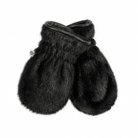 Aputiaraq Junior Mittens, Black