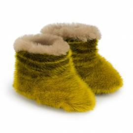 Kamii Children Slippers, Lemon