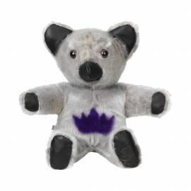 Teddy natural with purple star