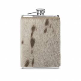 Hip Flask w. sealskin, Natural