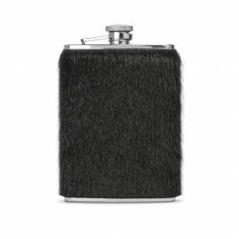 Hip Flask w. sealskin, Black
