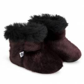 Kamii Children Slippers, Winered