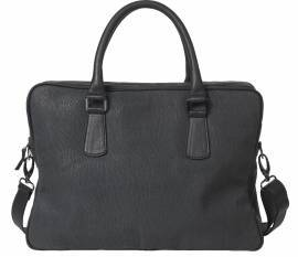 Business Bag, Embossed Seal Leather