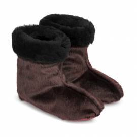 Kamik Slipper Boot, Winered w. Shearling