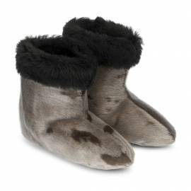 Kamik Slipper Boot, Natural w. Shearling