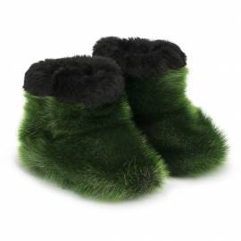 Kamii Children Slippers, Green