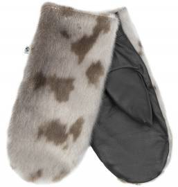 Aput Mittens w. Leather, Harpseal
