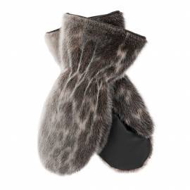 Snowmobile Mittens, Dame - Ringseal Natural