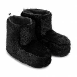 Junior Children Slippers, Black