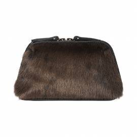 Ussing Cosmetic Pouch golden brown