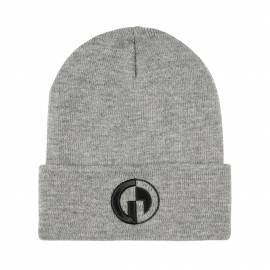 GG Knit Hat, Grey