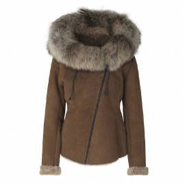 Shearling Jacket, Cognac