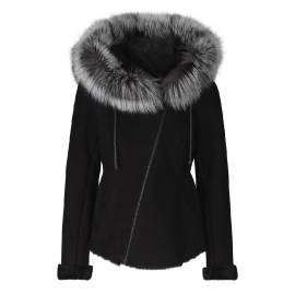 Shearling Jacket, Black