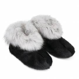 Qaamat Slippers, Black