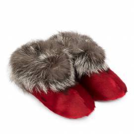 Ulloriaq Slippers, Red